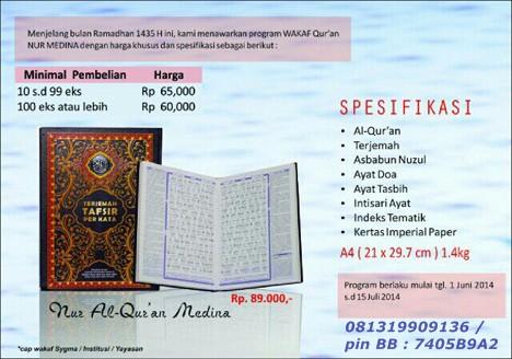 Quran Wakaf