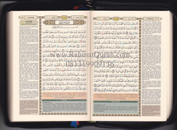 Quran Terjemah bukhara-A6-Resleting