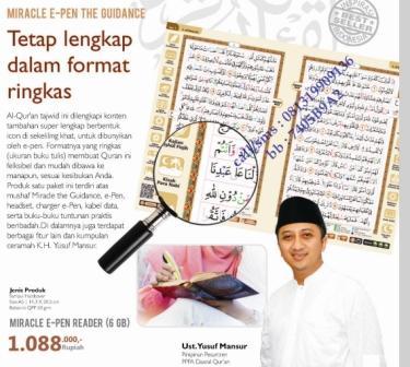 miracle e-pen the guidance dalam
