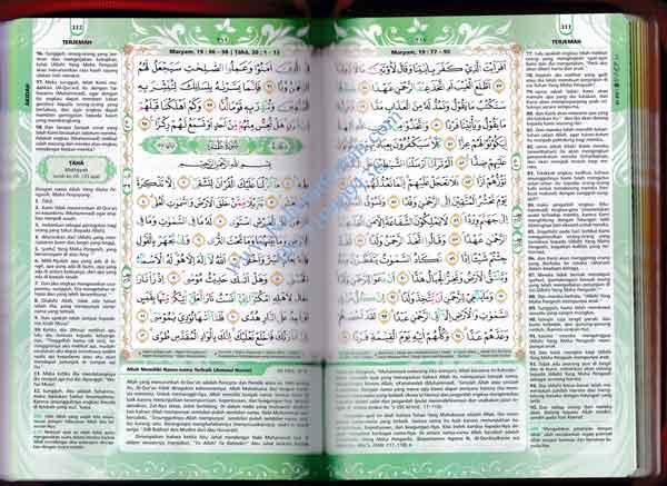 Al Quran Terjemahan Indonesia Al Haramain A5 HC