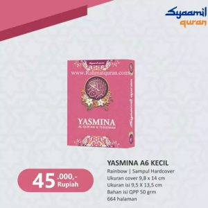 Al Quran Terjemah Syaamil Yasmina A6 HC
