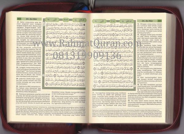 Quran Terjemah Cordova A6 Resleting