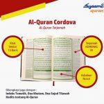 Al Quran Terjemahan Indonesia Syaamil Cordova A6 Resleting