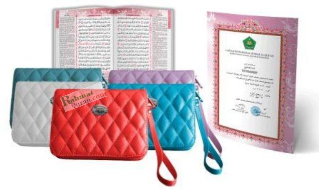 Quran Terjemah Tihany A6 resleting