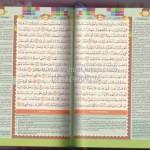 Al-Qur'an Madina New Zhafira A6 Rainbow