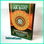 Al Quran Terjemah Tajwid Warna Ar Rafi A5 15 X 21cm Hardcover Kualitas Terbaik