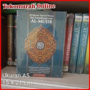 Al Quran Terjemah Tajwid Warna Transliterasi Latin AL MUJIB A5 HC